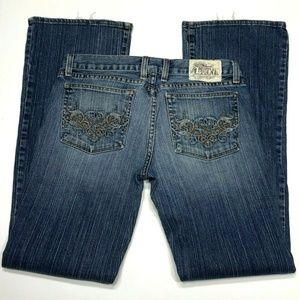 Lucky Brand Sparrow Dream Jean Low Rise Boot Cut